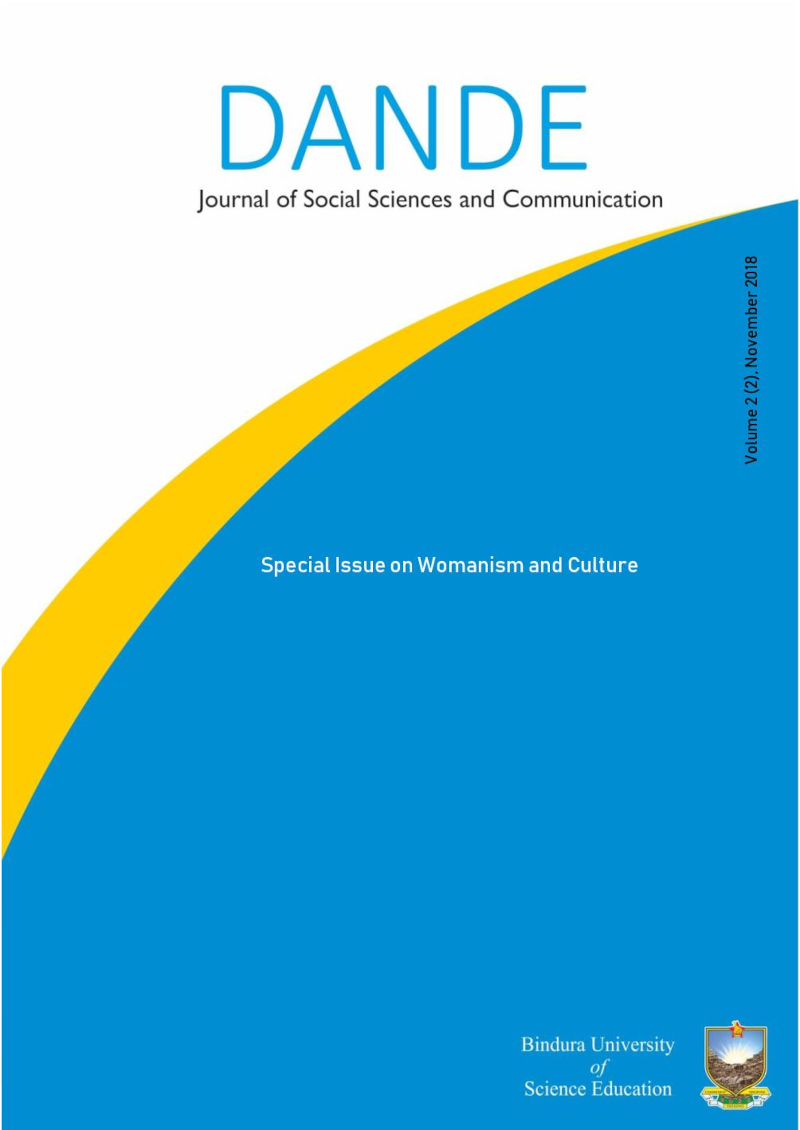 View Vol. 2 No. 2 (2018): Special Issue on Womanism and Culture